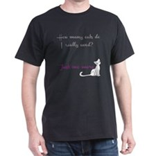 Just One More Cat T-Shirt