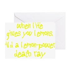 lemons1 Greeting Card