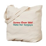 Screw Over Idol Tote Bag