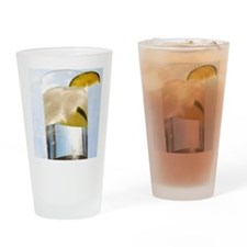 gin and tonic Drinking Glass