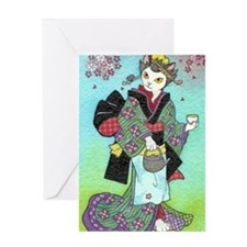 teashopgirl Greeting Card