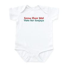 Screw Over Idol Infant Bodysuit