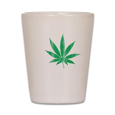 I Leaf THC Shot Glass