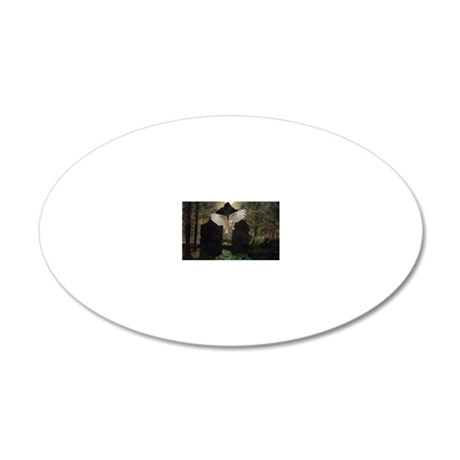 Abandoned 20x12 Oval Wall Decal