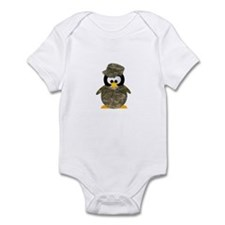 Army Penguin Infant Bodysuit