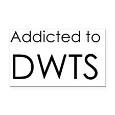 Addicted to DWTS Rectangle Car Magnet
