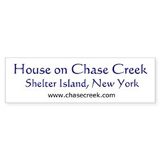 Chase Creek 02 Bumper Car Sticker