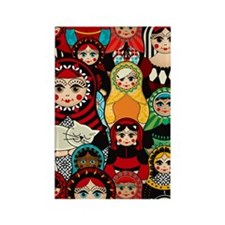 Matryoshka! Rectangle Magnet