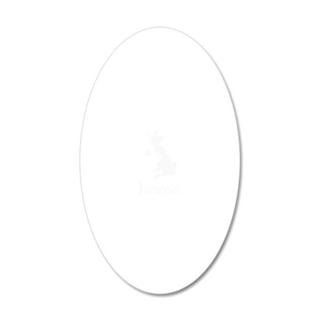 Home 20x12 Oval Wall Decal