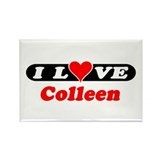 I Love Colleen Rectangle Magnet (100 pack)