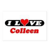 I Love Colleen Postcards (Package of 8)