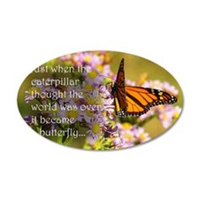 Butterfly Proverb Wall Decal