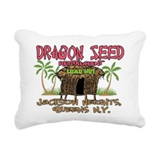Dragon Seed Restaurant Rectangular Canvas Pillow