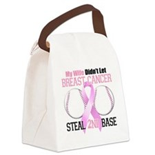 Wife Didnt Let Breast Cancer Stea Canvas Lunch Bag