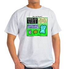 Amoeba Math Cartoon T-Shirt