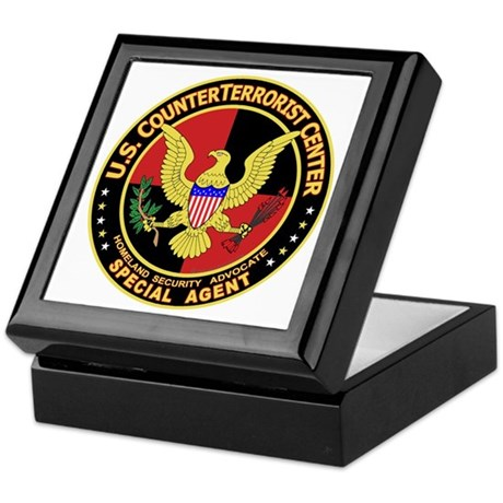 U.S. Counter Terrorist Center Keepsake Box