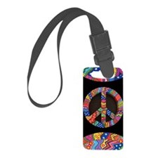 Peace phone case Luggage Tag