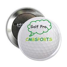 "Golf Pro 2.25"" Button"