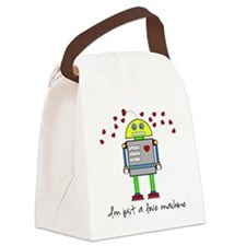 Love Machine T-Shirt Canvas Lunch Bag