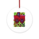 Truck Ornament (Round)