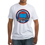 Pennsylvania Statehood Fitted T-Shirt