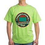 Pennsylvania Statehood Green T-Shirt
