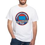 Pennsylvania Statehood White T-Shirt