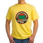 Pennsylvania Statehood Yellow T-Shirt