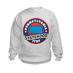 Pennsylvania Statehood Kids Sweatshirt