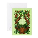 Greenman Herne - Greeting Cards (Pk of 10)