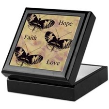 hope faith love Keepsake Box