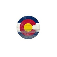 Colorado Old Paint Mini Button