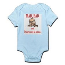 Pie Brand Mad Bad Infant Creeper
