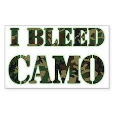 I Bleed Camo (woodland) Decal