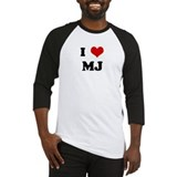 I Love MJ Baseball Jersey