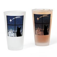 Silent Night Drinking Glass