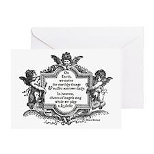 Ukulele Benediction Greeting Card