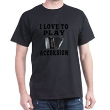 Accordion Designs T-Shirt