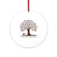 Infertility Family Tree Round Ornament