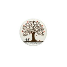 Infertility Family Tree Mini Button