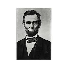 Abraham Lincoln, Honest Abe, Rectangle Magnet