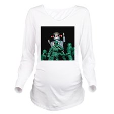 Army men and Giant R Long Sleeve Maternity T-Shirt