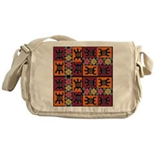 African Art Messenger Bag