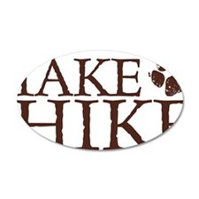 Take a Hike Paw Wall Decal
