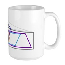 Venn Quadrilaterals Coffee Mug