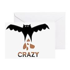 Bat S#*t Crazy Greeting Card