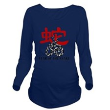 . Long Sleeve Maternity T-Shirt