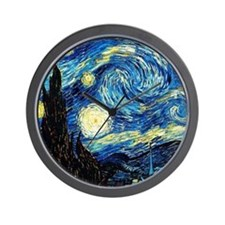 Van Gogh - Starry Night Wall Clock