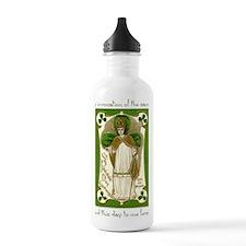 St. Patricks Breastpla Water Bottle
