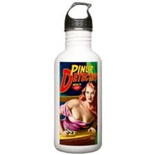 Pinup Detective Pulp M Water Bottle